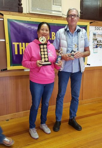 Susan Peng, Inaugural winner of the Open Proportional. Mick Stait Runner-Up