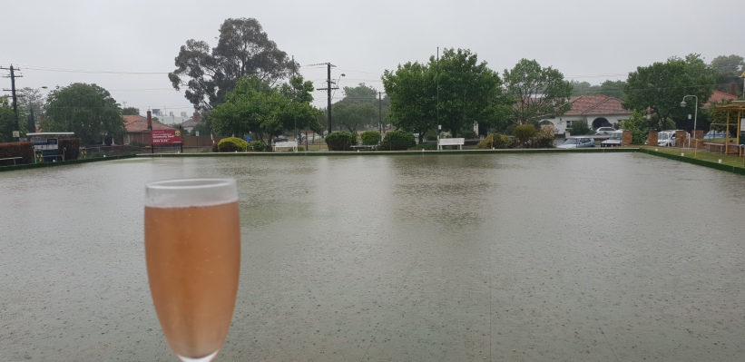 46 mm of rain