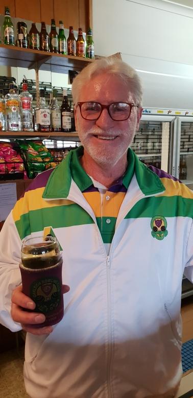 Colin Topp. He's a Topp barman!