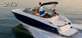 Cobalt 242 pleasure craft