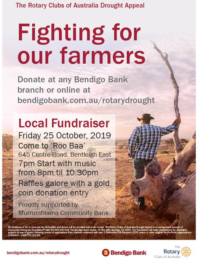 Local Fundraiser - Drought Appeal